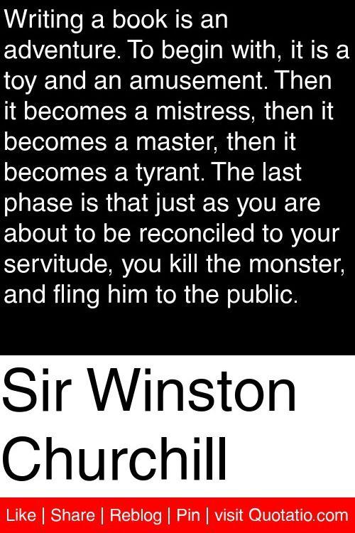 Winston churchill essay