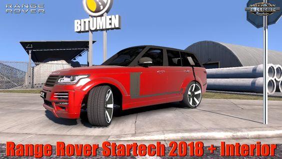 Range Rover Startech 2018 Interior V2 0 1 36 X For Ats Range Rover American Truck Simulator Renault Kangoo