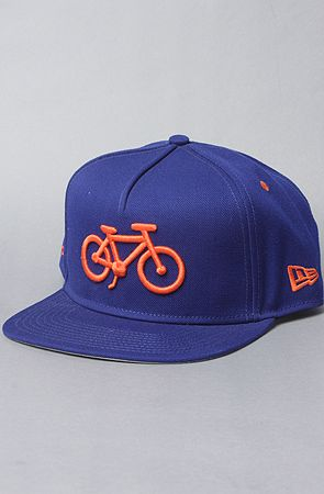 $34 Society Bicycle Snapback Hat by New Era on Karmaloop (Use code SMARTCANUCKS for an additional 20%OFF at the checkout on karmaloop.com)