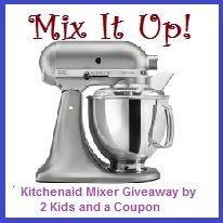 Mix It Up KitchenAid Mixer Giveaway! #Summer #Win #Giveaway $350 Value!