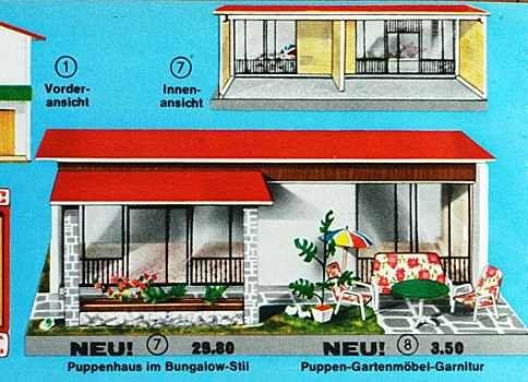 Puppenhäuser 50er 11
