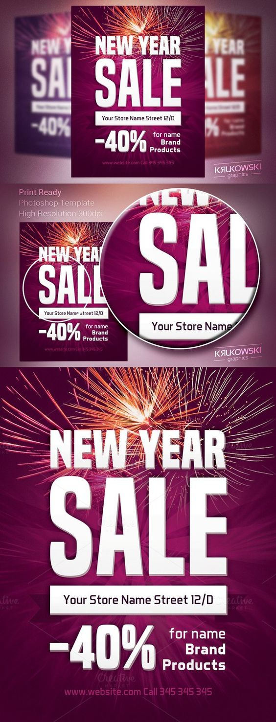 new year simple template flyer templates flyer new year simple template flyer templates 6 00