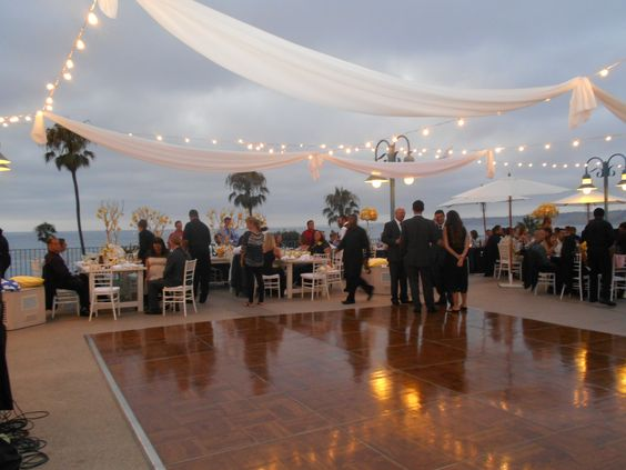 Ocean View Dance Floor La Jolla Cove Suites Weddings At The Pinterest And Blush Roses