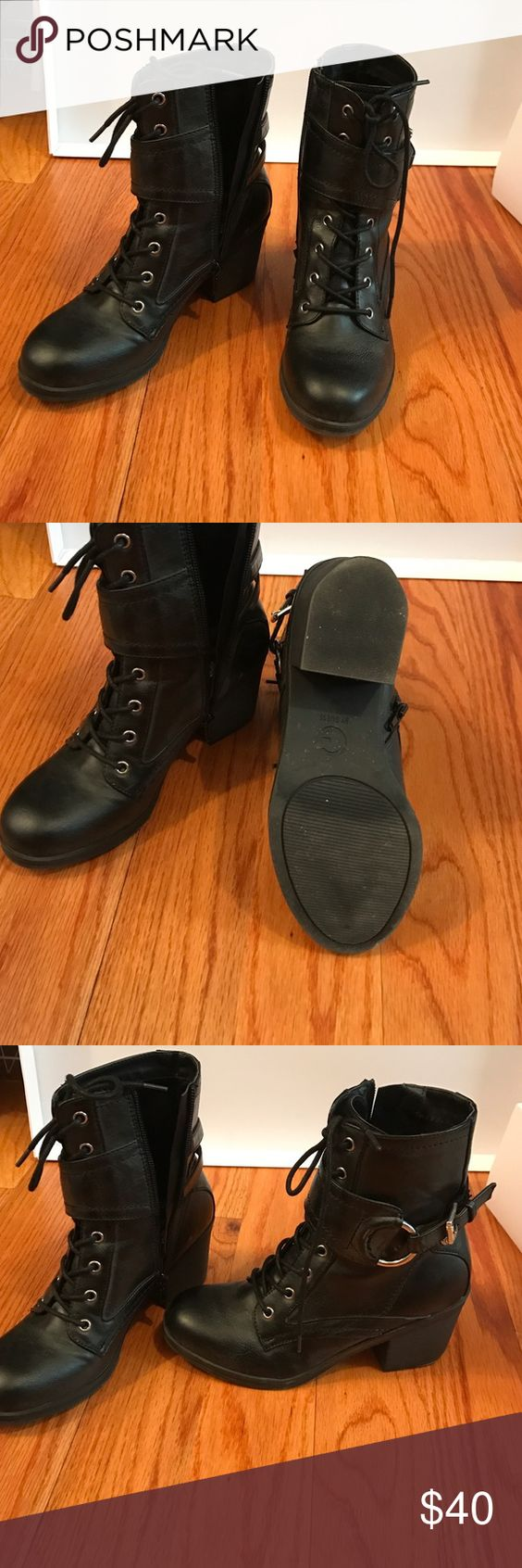 Boots Guess black boots like new only worn once G by Guess Shoes Ankle Boots & Booties