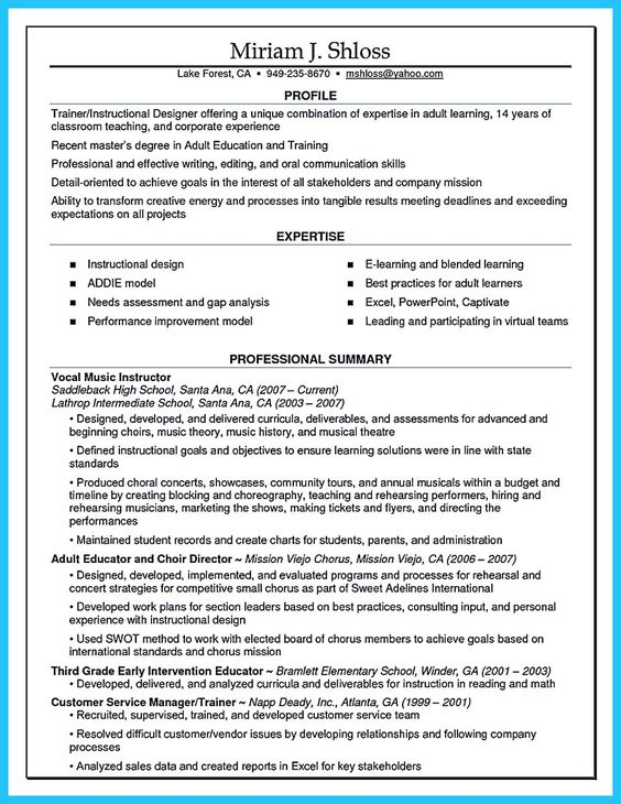 nice Brilliant Corporate Trainer Resume Samples to Get Job - combination resume definition