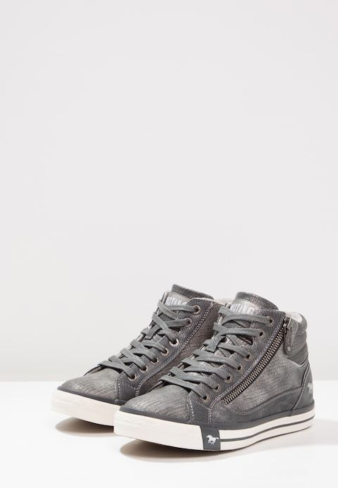 mustang high top trainers
