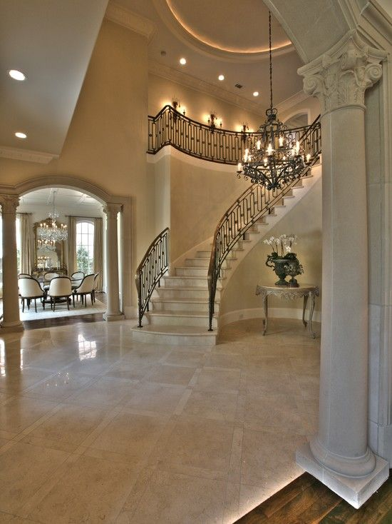Pinterest the world s catalog of ideas for Elegant foyer decor