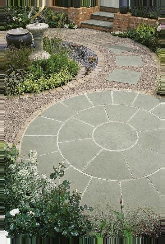 Paving Small Patio Design Garden Paving Garden Design