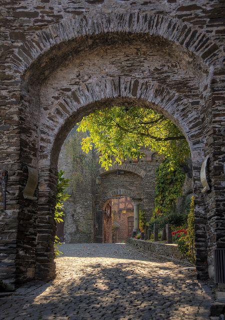 Castle Portals, Reichsberg, Germany