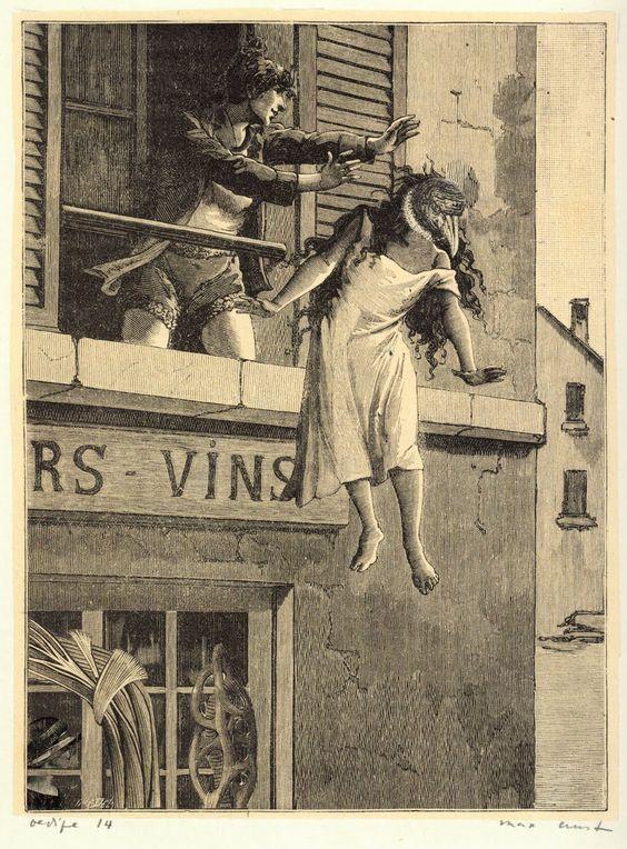 Max Ernst - Collage for Une Semanine de Bonté, 1934