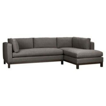 sectional: Living Rooms, Living Room Ideas, Crate And Barrel, Gray Sectional, Bathroom Decor, Sectional Sofas, Bonus Rooms