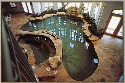 Pinterest the world s catalog of ideas - Unique indoor swimming pools ...