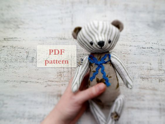 Hey, I found this really awesome Etsy listing at https://www.etsy.com/ru/listing/119858315/pattern-for-soft-safe-artist-bear-teddy