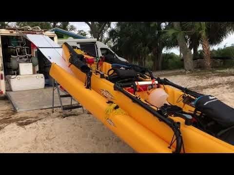 Hobie Tandem Island Winching Youtube Hobie Tandem Island Tandem Kayaking