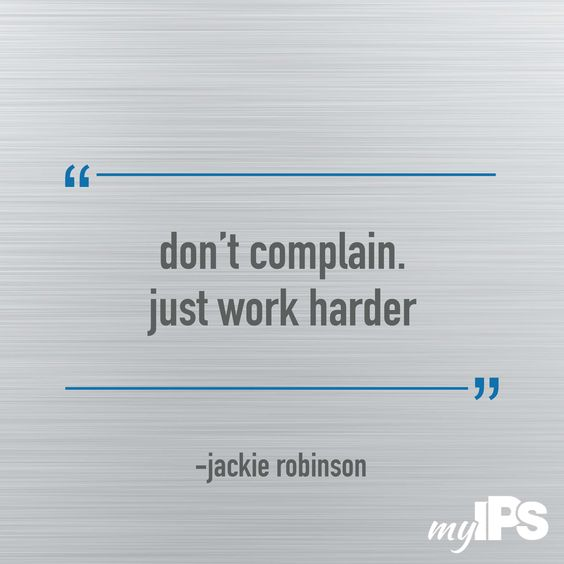 Jackie Robinson Quote