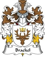 Brackel Coat of Arms / Polish family crest #heraldry #coat of arms #code of arms #genealogy #clan #crest #shield