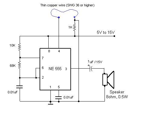 555 Timer Astable Circuit Calculator Circuit Diagram Circuit Electronics Circuit