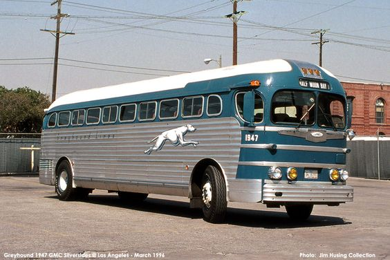 '47 Greyhound GMC Bus,remember this one ? I remember taking buses like this one to Girl's Camp in the 60's.