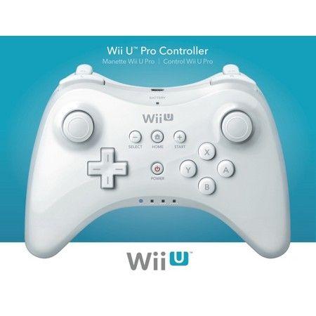 White Wii U Pro Controller
