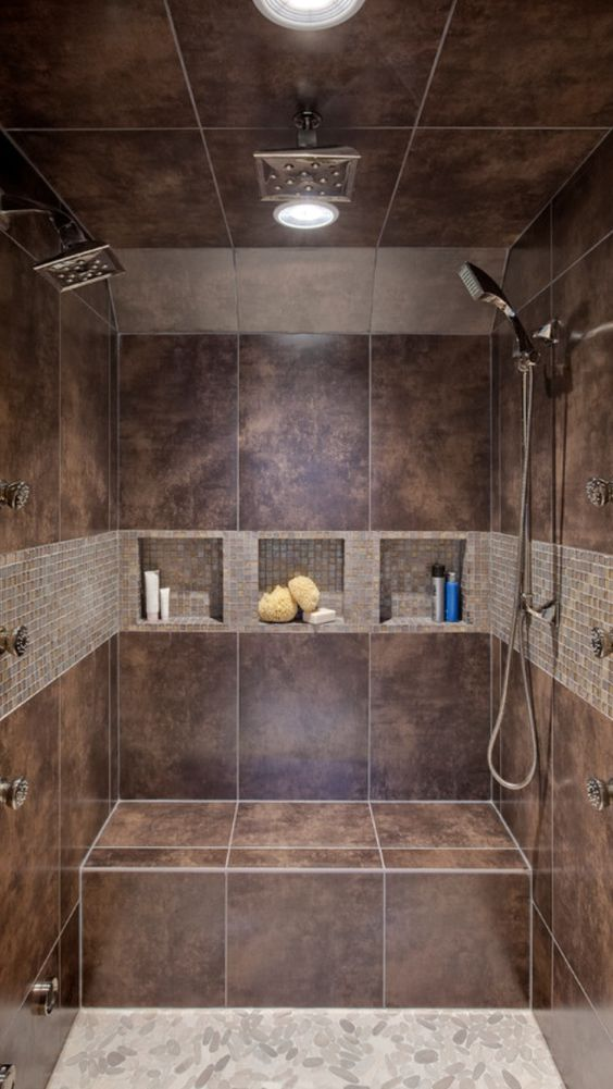 Double Headed Shower.   New Home   Pinterest   House, Future and Bath