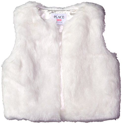 The Children's Place Little Girls' Faux Fur Vest, White - http://our-shopping-store.com/apparel-and-accessories.asp
