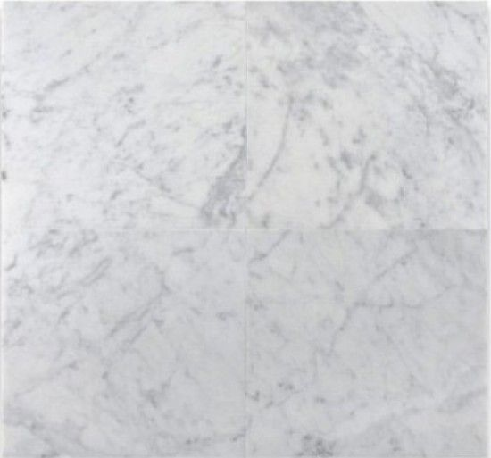Bianco Carrara White Marble Honed 12x12 Floor And Wall Tile Marble Polishing White Marble Carrara