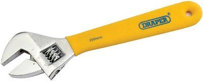 Draper diy #series 5771 #200mm #adjustable wrench soft grip,  View more on the LINK: http://www.zeppy.io/product/gb/2/322003343685/