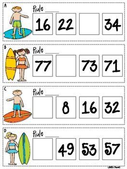 math worksheet : 1000 ideas about number patterns on pinterest  math skip  : Everyday Math Grade 5 Worksheets