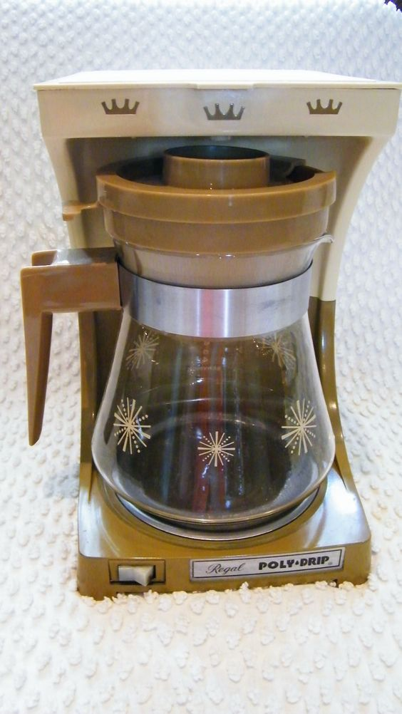 Regal Poly-Drip coffee maker VINTAGE COFFEE MAKERS Pinterest Coffee Maker, Coffee and Mixer