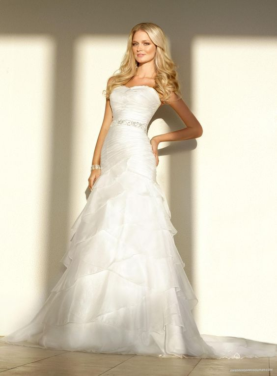 Style 10173 - Wedding- The shape and A line