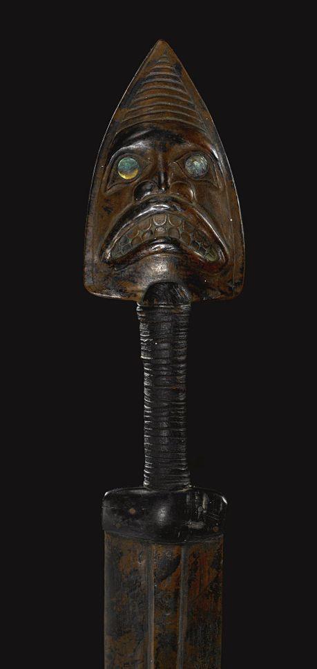 TLINGIT COPPER Dagger
