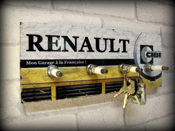D co murale garage for Garage renault ile verte