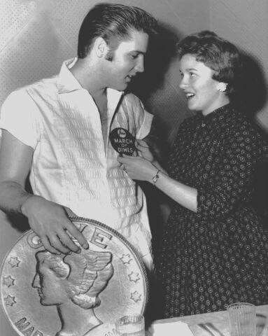 Elvis for The. March of Dimes