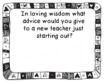 Advice for new teachers just starting out... {linky party with LOTS of ideas!}