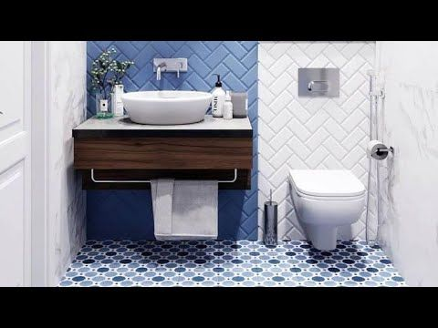 Beautiful Bathroom Floor And Wall Tiles Design Contrasting And Stylist Ideas Youtube In 2020 Wall Tiles Design Bathroom Tile Designs Washroom Design