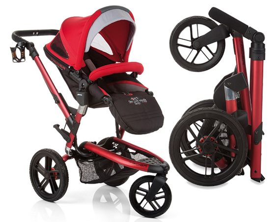 Jané Trider Extreme Stroller Review - seat and canopy