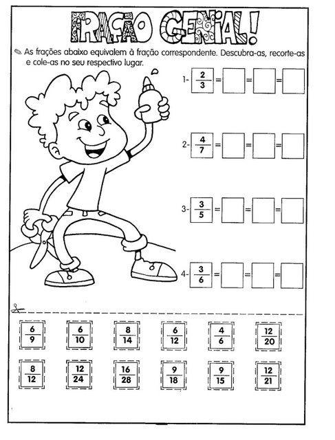 Pin Em Matematica 5º