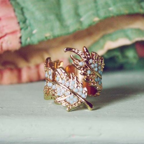 Coldwater Feather Ring