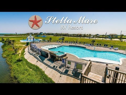 Located In Galveston Tx Stella Mare Rv Resort Offers Everything You Need To Enjoy Your Stay On Galveston Bea Pet Friendly Beach Galveston Beach Best Rv Parks
