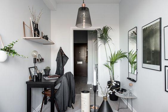 Gravity Home: Tiny Scandinavian Studio Apartment