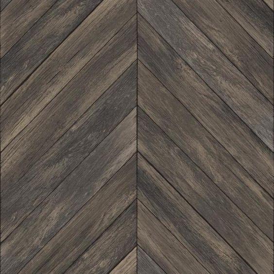 Decowall New York Vanilla Wood Peel And Stick 3d Effect Self Adhesive Diy Wallpaper Sample Sf 4069 The Home Depo Herringbone Wood Modern Lodge Wood Wallpaper