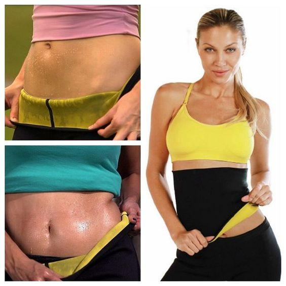 Neoprene Slimming Waist Belt Body Shaper via LA SAVVEON. Click on the image to see more!