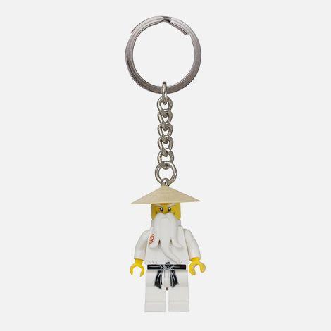Sensei Wu LEGO® minifigure keychain