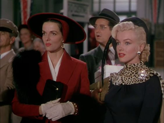 Now for Gentlemen Prefer Blondes (1953), the story of two alarmingly well-endowed performers who cross the great ocean to Paris, transfix Olympic athletes, a private detective, an old man who owns …