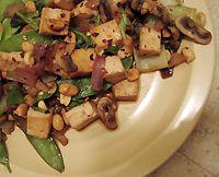 Kung Pao Tofu veegie stir fry