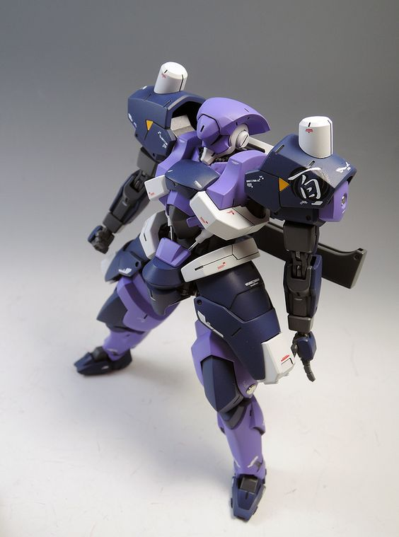 HG 1/144 Hyakuren - Painted Build