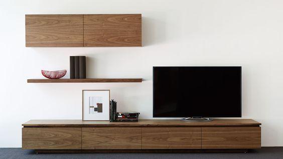 テレビボード 壁面 収納 アルフレックス 木 ウォール