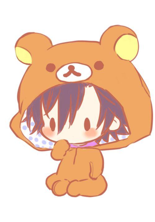 Risultati immagini per orso kawaii gif