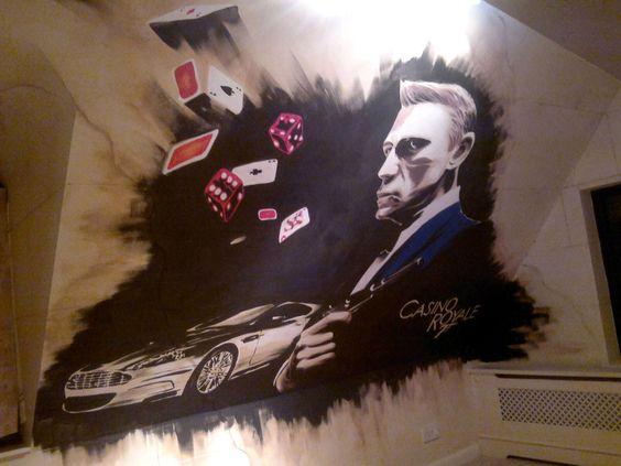 #JamesBond #Graffiti #Wall