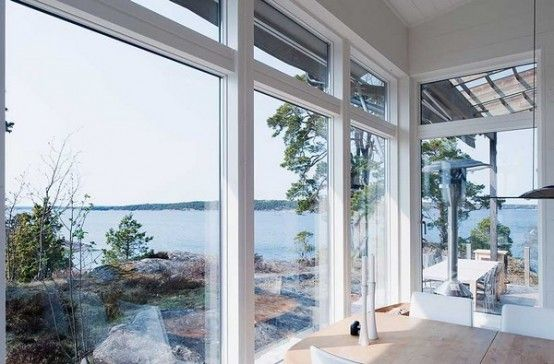 I want to own a house with a ton of windows, and those blinds that come down in the press of a button